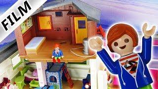 Playmobil Film deutsch | JULIANS EIGENES BAUMHAUS in der Luxusvilla | Verstecken vor Maren Schnösel