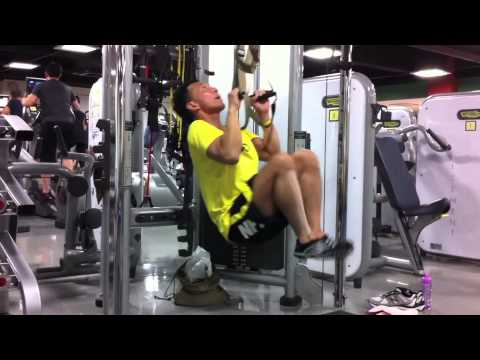 Hanging Leg Raise With Straps TRX Pull Up w/H...