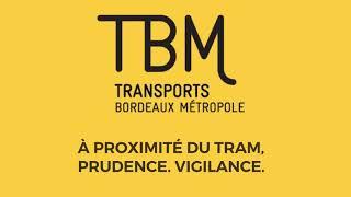 Dispositif de sécurité en test sur tram TBM