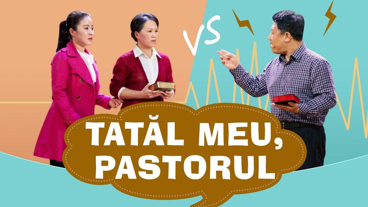 """Scenetă creștină """"Tatăl meu, pastorul"""" O dezbatere despre Biblie"""