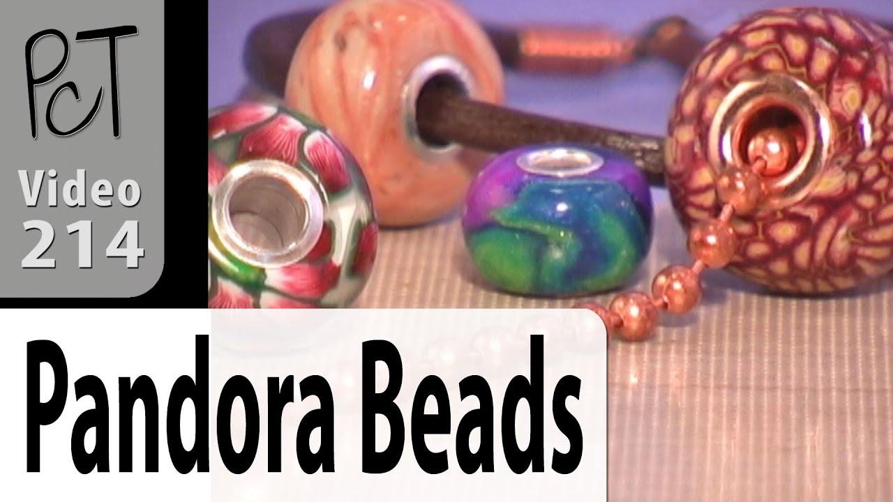 065426dd9 Pandora Style Beads | Polymer Clay Tutorial