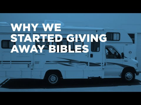The Bibles for America Story: How It All Began—One Free Bible at a Time