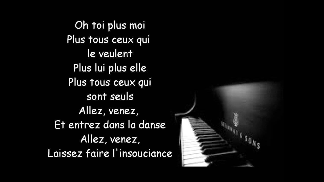 Grégoire Toi + Moi Lyrics
