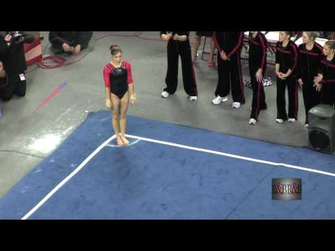 Perfect 10 - Courtney Kupets - Floor Exercise - vs Florida 2009 (HD)