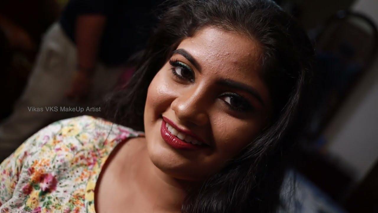 Malayalam christian bridal makeup I Happy bride story Thrissur I Vikas Vks makeup artist I Kerala