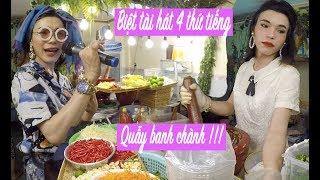 Đây là lý do em gái Thy Ty bán 300 dĩa gỏi Thái mỗi ngày, khách ùn ùn kéo đến