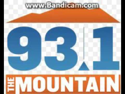 "KYMT ""93.1 The Mountain"" Station ID February 8, 2017 6:04pm"