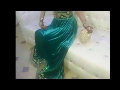 20d259c51  فساتين اعراس تقليدية جزائرية بلمسة عصرية - YouTube