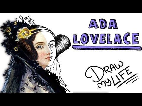 ADA LOVELACE   Draw My Life (la primera programadora de la Hª)