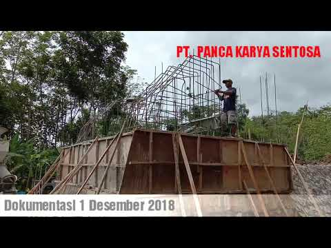 Konstruksi Jembatan Gantung Cilacap Progres 60% I Infrastruktur I Program Pemerintah