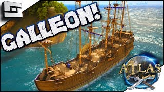 ATLAS: Galleon Vs Ship Of The Damned! Atlas Gameplay / Let