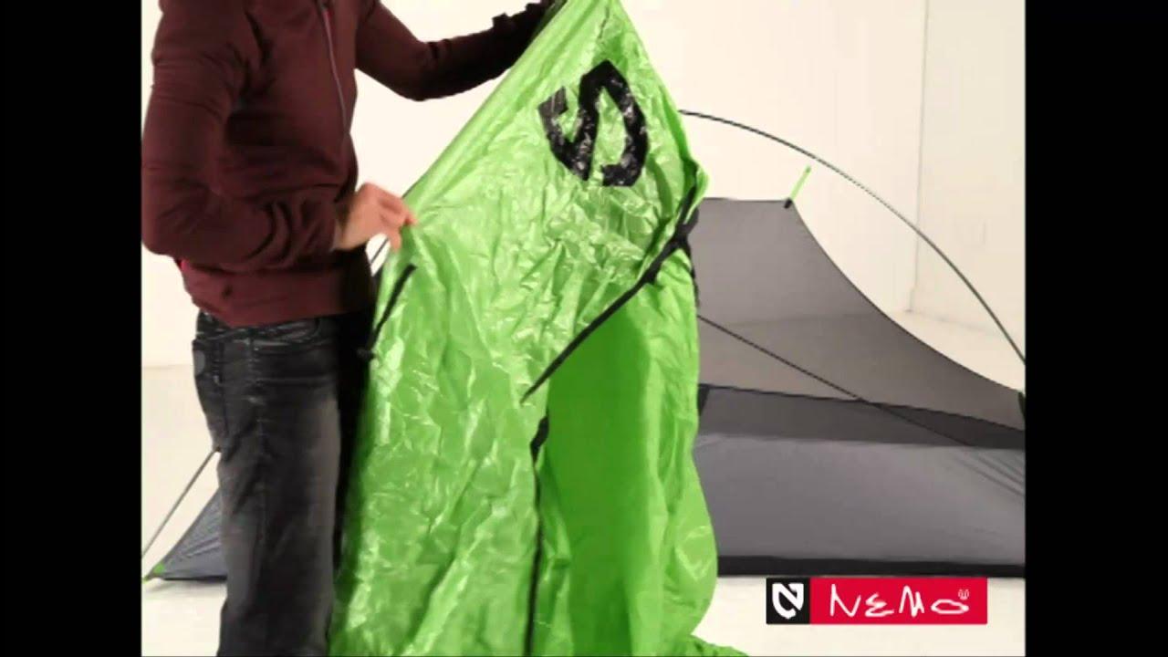 & NEMO Obi Series Tent Setup - YouTube