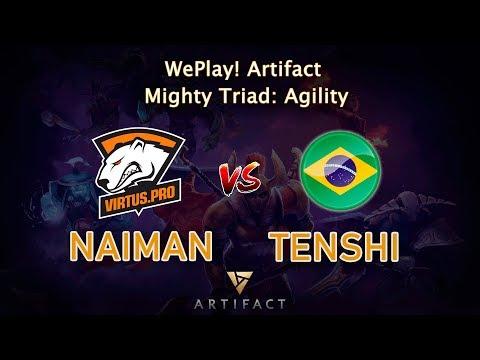Naiman vs TenShi vod