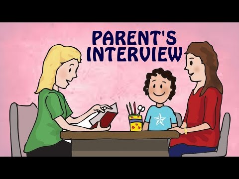 Parent's Interview | Learn how to give School Interviews