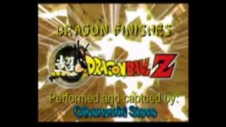 Super DBZ Dragon Finishes