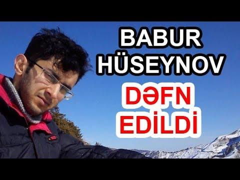 Alpinist Babur Hüseynov dəfn edildi