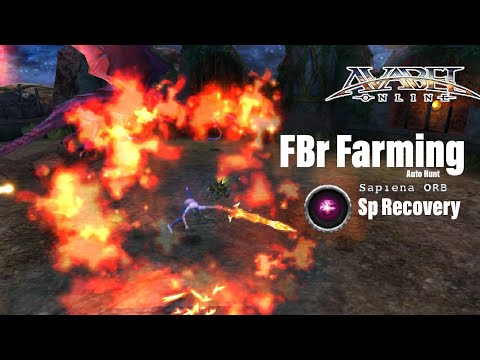 AVABEL ONLINE : Fire Bringer Farm [Auto Hunt] Sp Recovery Sapiena ORB