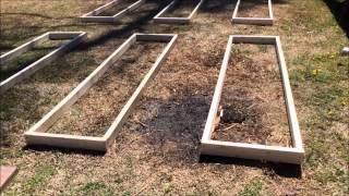 Rebuilding The Raised Planter Boxes Part 2