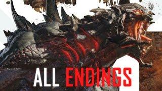 Evolve Both Endings (All Endings) 1080p HD