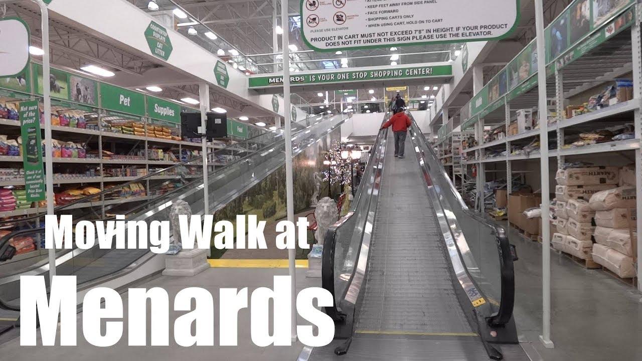 Schindler Moving Walkway @ Menards - Brentwood, MO