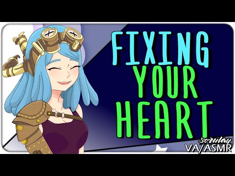 [ASMR] I'm Gonna Fix Your Heart [Mechanic Girl] [Chatting] [Voice Acting] [Italian Accent]
