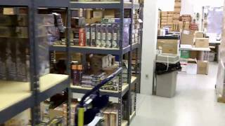 Virtual Tour of Miniature Market's Warehouse