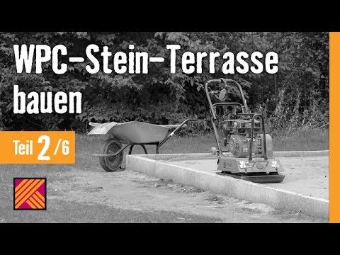 Version 2013 WPC Stein Terrasse bauen Kapitel 2
