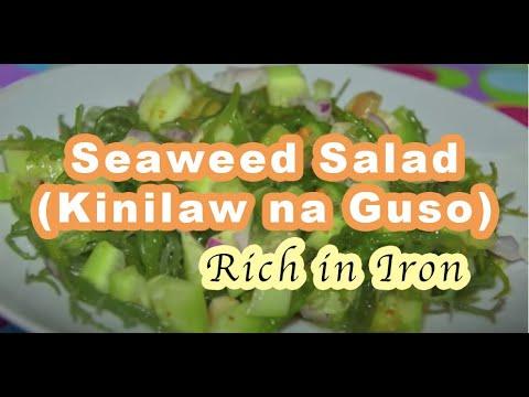 Seaweed Salad (Kinilaw na Guso)