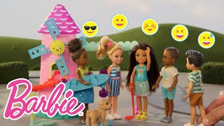 Try Not to Laugh at Chelsea™ and Friends' Mini Golf Bloopers & Fails Video | Barbie® Family | Barbie