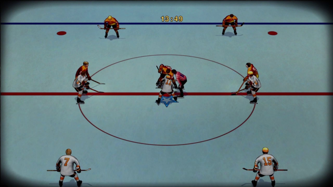 old time hockey gameplay youtube
