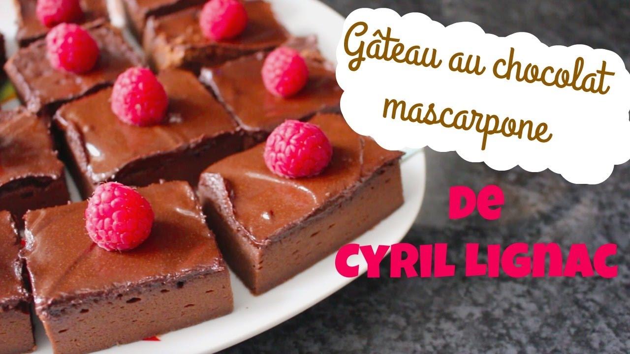 recette g teau au chocolat de cyril lignac 12 parts chocopraline youtube. Black Bedroom Furniture Sets. Home Design Ideas