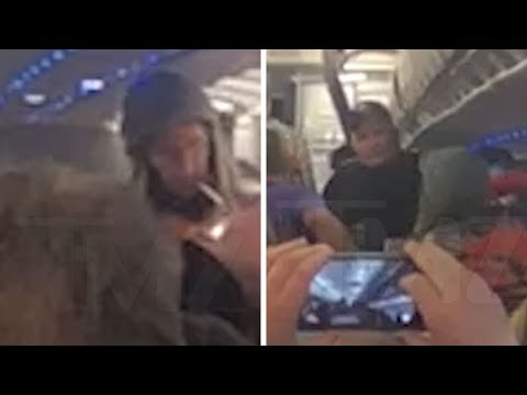 Bodhi - Guy Smoking Weed Gets Kicked Off an American Airlines Flight (Video)