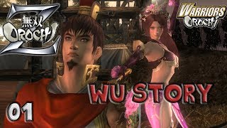 Musou Orochi Z  (PC Gameplay with Commentary) 01 THIS IS SO BEAUTIFUL! ;-; (DW6 Outfits ❤️ )