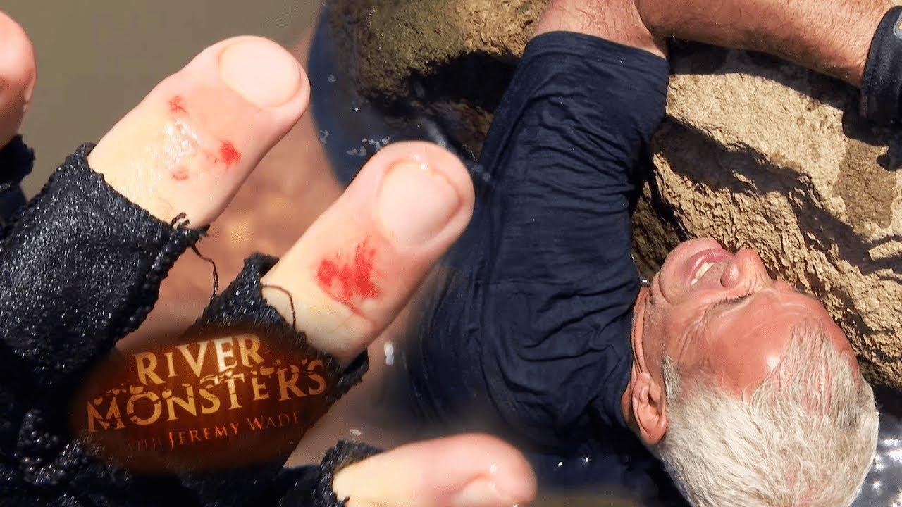 Jeremy Wade Bitten Hard By Catfish | CATFISH | River Monsters