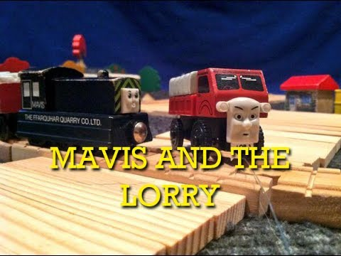 The Wooden Railway Series Mavis And The Lorry