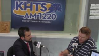 Sean Weber - City Council Applicant On KHTS (Jan 10, 2017) -- Santa Clarita