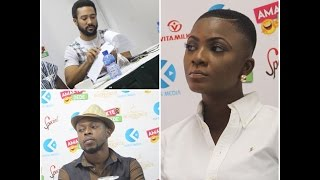 Download Video Kalybos & Majid Michel Fight Over Ahuofe Patri in