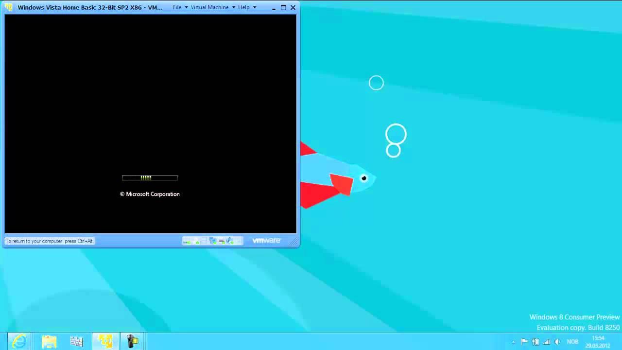 How do I install Windows Vista Home Basic on a computer