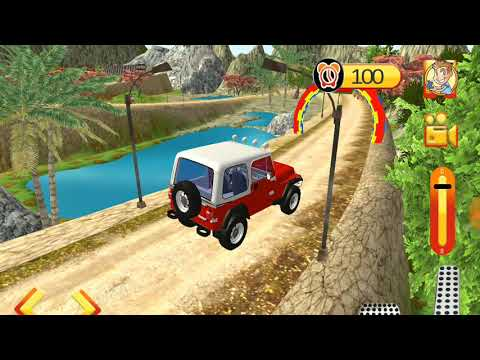 My Holiday Car | Offroad  Red Jeep Driving | Android GamePlay #5