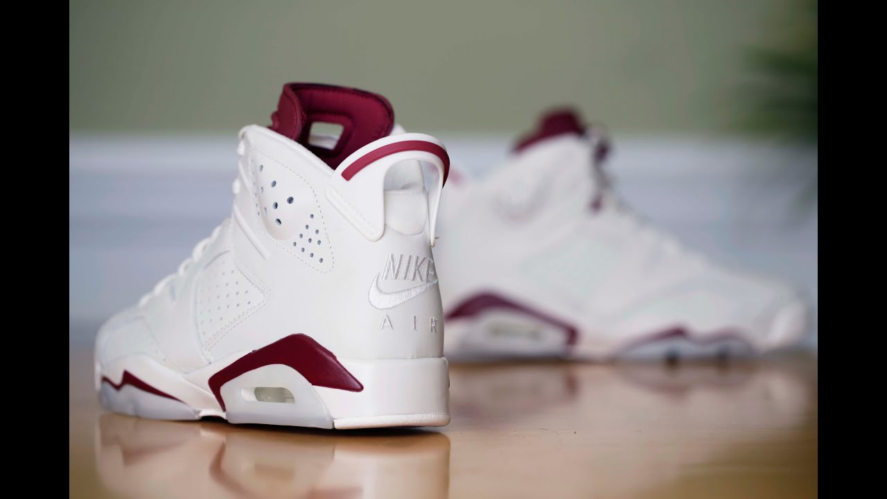 Air Jordan 6 Retro - Maroon (2015) - YouTube 214e3f085