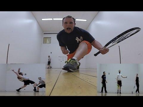 Racquetball | Matrix Mark, Dangerous Dave, and Turbo Tim
