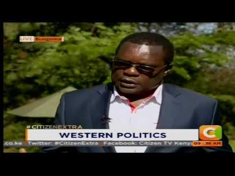 Bungoma Gov Ken Lusaka on Western Politics #CitizenExtra