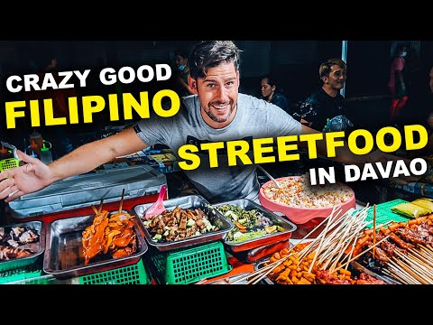 Grilled FILIPINO STREET FOOD in ROXAS MARKET DAVAO CITY