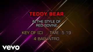 Red Sovine - Teddy Bear (Karaoke)
