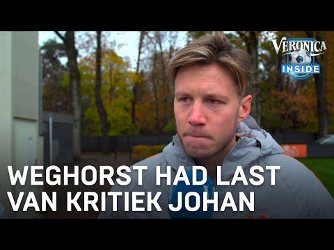 Weghorst over kritiek Johan: 'Vroeger echt goed last van gehad' | VERONICA INSIDE