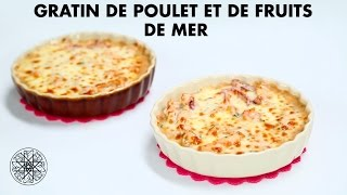 Choumicha : Gratin de Poulet et de Fruits de Mer | شميشة : كراتان الدجاج و فواكه البحر