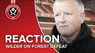 Chris Wilder's Forest reaction