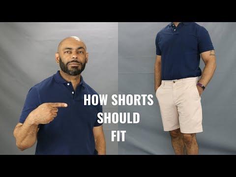 How Men's Shorts Should Fit