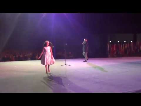 Angelina Jordan performs for 40,000 people in Seoul vaccination charity for children