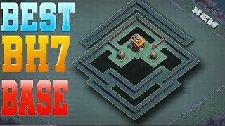 Clash Of Clans Best Builder Hall 8 Base | Builder Hall 8 Base Layout 2018